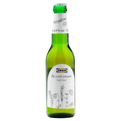 ÖL LJUS LAGER Lager beer 4.7%, 330 ml