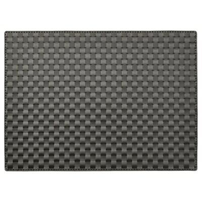 ORDENTLIG place mat black 46 cm 33 cm