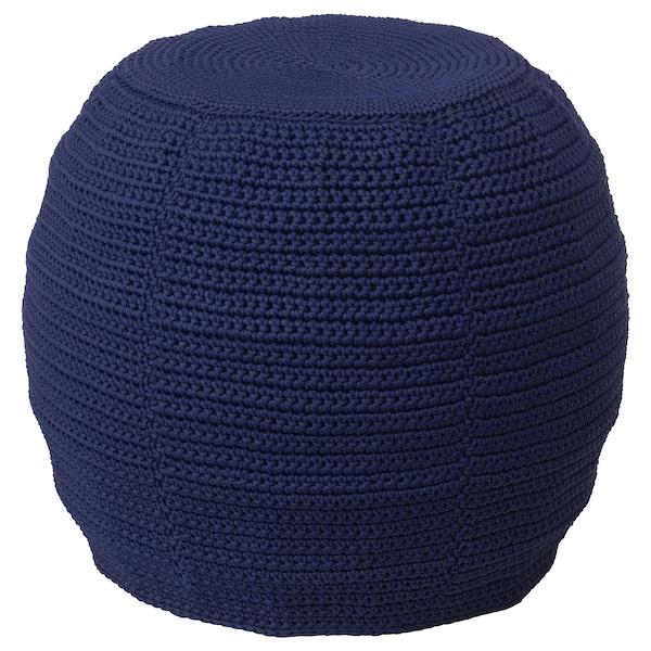 OTTERÖN / INNERSKÄR pouffe, in/outdoor blue 41 cm 48 cm