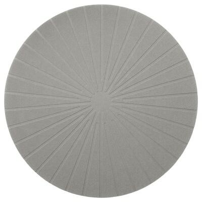 PANNÅ Place mat, grey, 37 cm