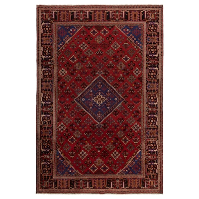 PERSISK MIX rug, low pile handmade 300 cm 200 cm 6.00 m² 3500 g/m² 10 mm 12 mm 7 mm 300 pack