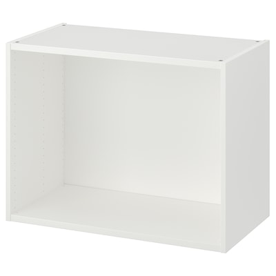 PLATSA frame white 80 cm 40 cm 60 cm