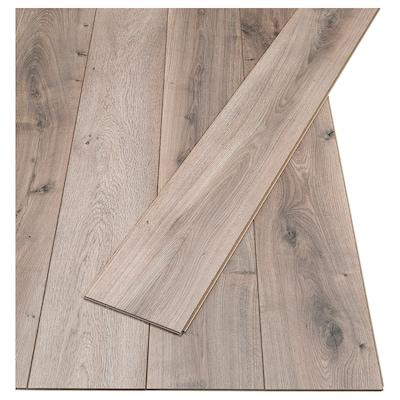 PRÄRIE Laminated flooring, oak effect/antique effect, 2.25 m²