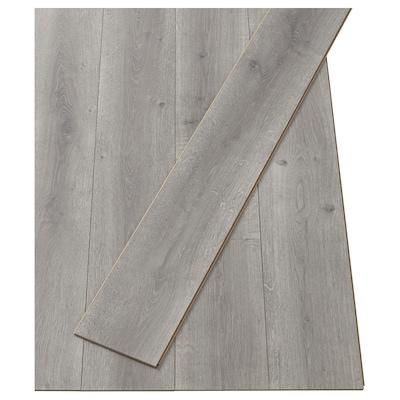 PRÄRIE Laminated flooring, oak effect grey, 2.25 m²
