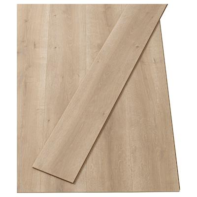 PRÄRIE Laminated flooring, oak effect/natural, 2.25 m²