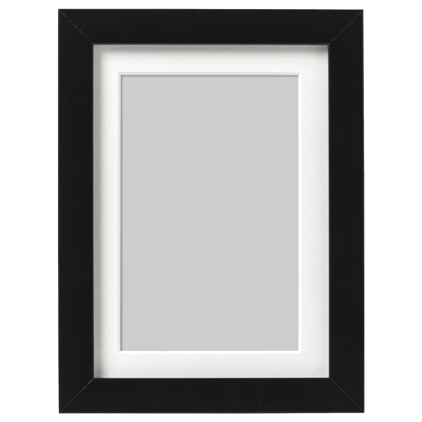 Ribba Frame Black 13x18 Cm Ikea