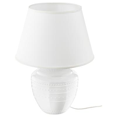 RICKARUM table lamp white 13 W 42 cm 58 cm 42 cm 13 cm 2.1 m