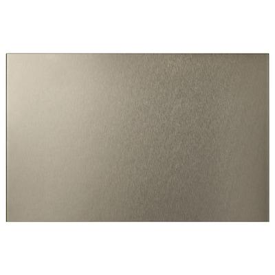 RIKSVIKEN Door/drawer front, light bronze effect, 60x38 cm