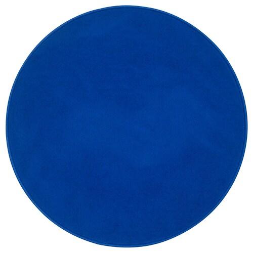 RisgÅrde Rug Low Pile Blue Ikea