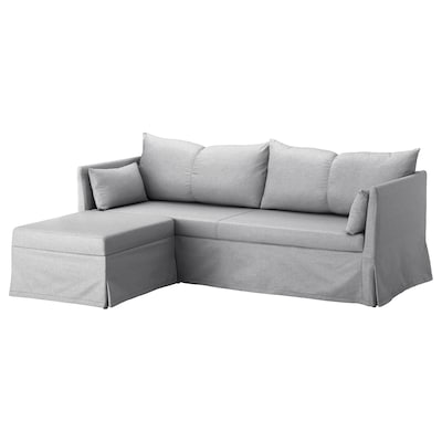 SANDBACKEN corner sofa, 3-seat Frillestad light grey 212 cm 69 cm 78 cm 149 cm 70 cm 33 cm