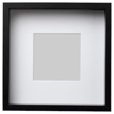 SANNAHED Frame, black, 25x25 cm