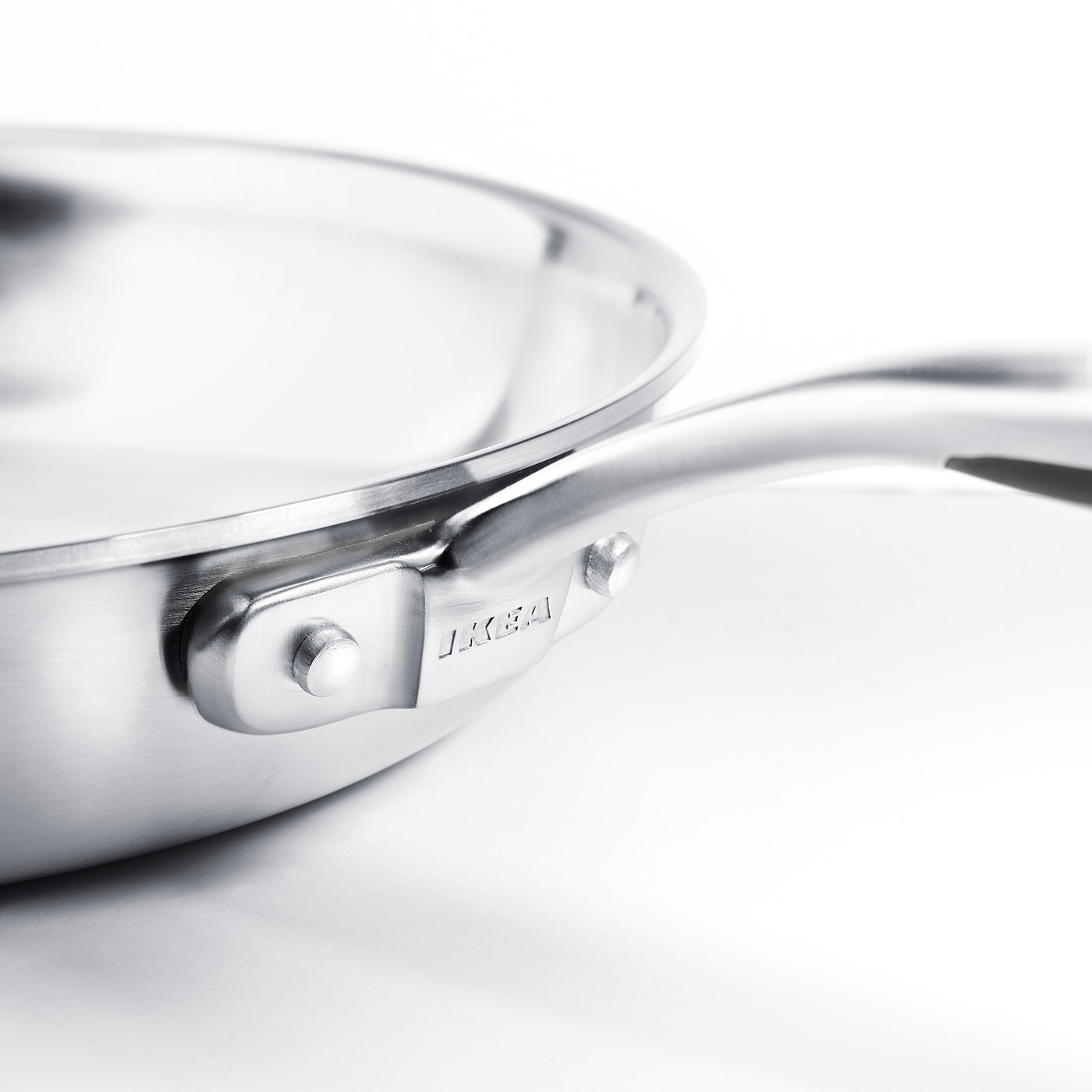 SENSUELL Frying pan, stainless steel/grey, 28 cm