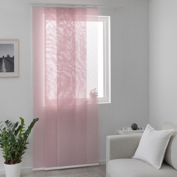 SIGNILD Panel curtain, pink, 60x300 cm