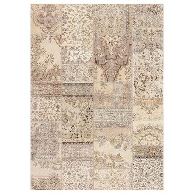 SILKEBORG rug, low pile assorted grey shades 240 cm 170 cm 4.08 m² 8 mm