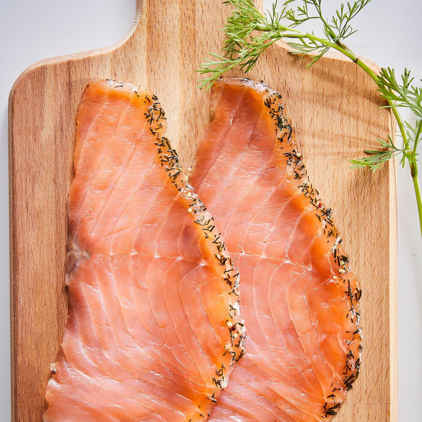 SJÖRAPPORT Cured cold smoked salmon, ASC certified/frozen