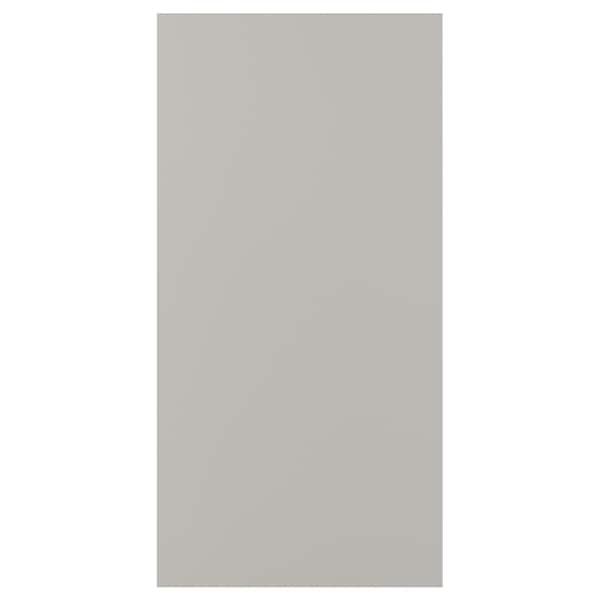 SKATVAL door light grey 60.0 cm 120.0 cm