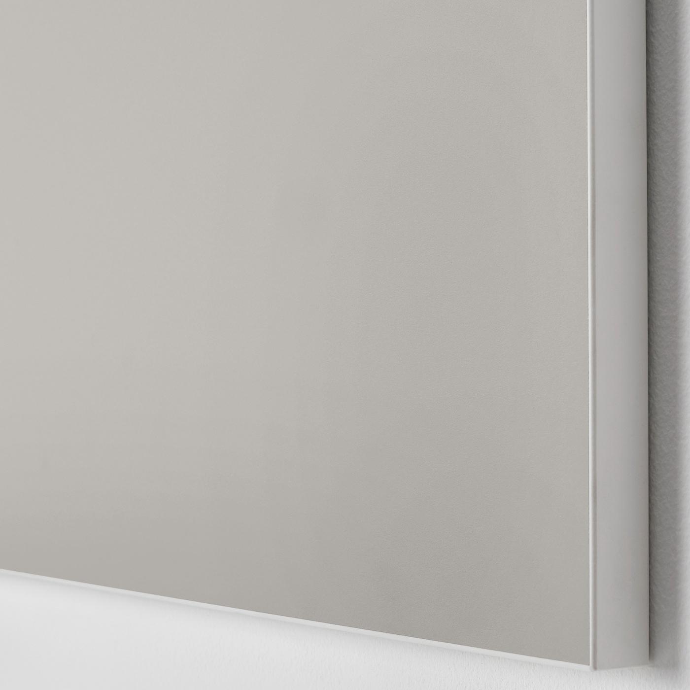 SKATVAL Drawer front, light grey, 60x20 cm