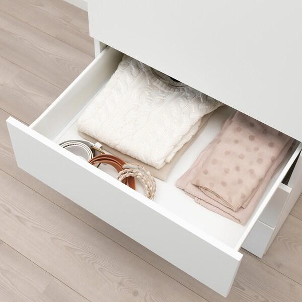 SKATVAL Drawer, white/dark grey, 60x57x20 cm