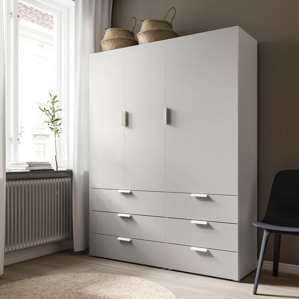 SKATVAL Drawer, white/light grey, 60x57x20 cm