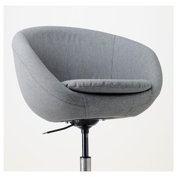 Rode Draaistoel Ikea.Skruvsta Swivel Chair Vissle Grey Ikea