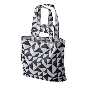 SKYNKE carrier bag black/white 45 cm 36 cm