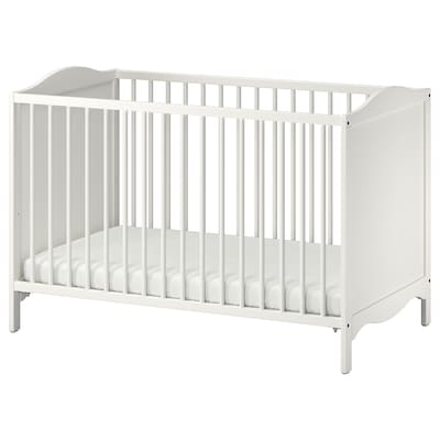 SMÅGÖRA 3-piece baby furniture set, white