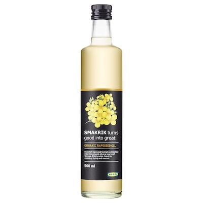 SMAKRIK Rapeseed oil, organic