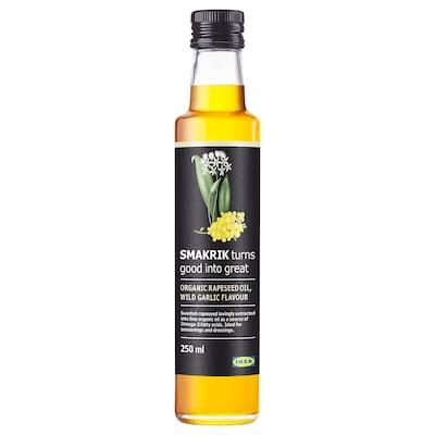 SMAKRIK Rapeseed oil, wild garlic organic
