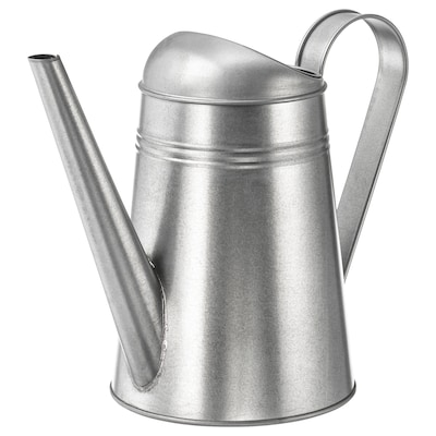 SOCKER watering can in/outdoor/galvanised 23 cm 2.6 l