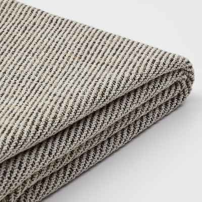 SÖDERHAMN Footstool cover, Viarp beige/brown