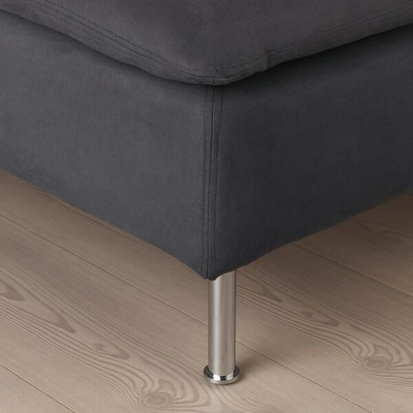 SÖDERHAMN footstool Samsta dark grey 93 cm 93 cm 40 cm