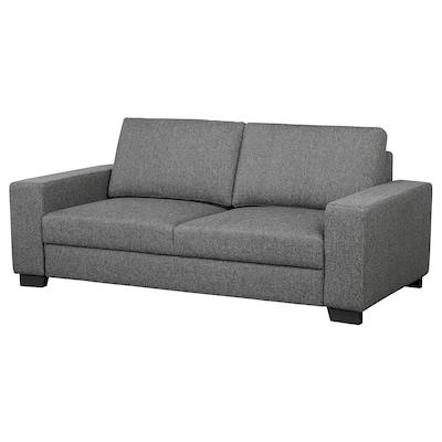 SÖRVALLEN 2-seat sofa Lejde dark grey 203 cm 102 cm 88 cm 58 cm 60 cm 45 cm