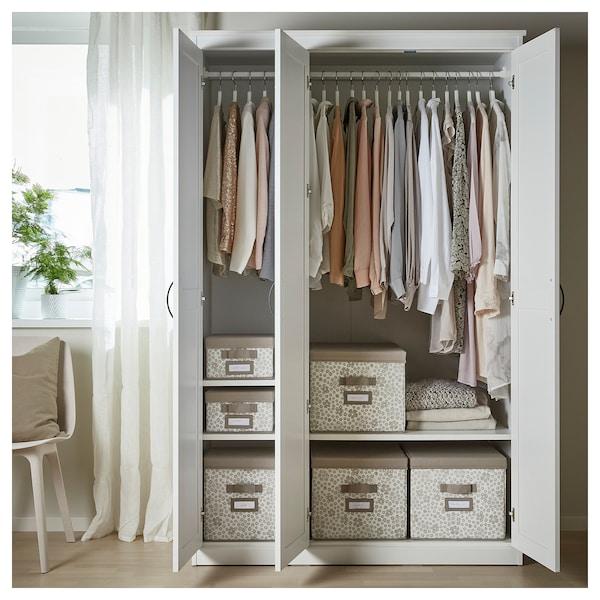 SONGESAND Wardrobe, white, 120x60x191 cm