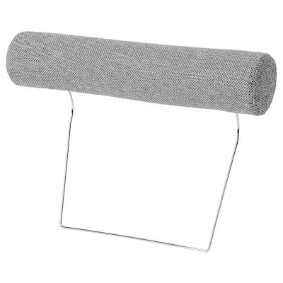 SÖRVALLEN Headrest, Lejde grey/black