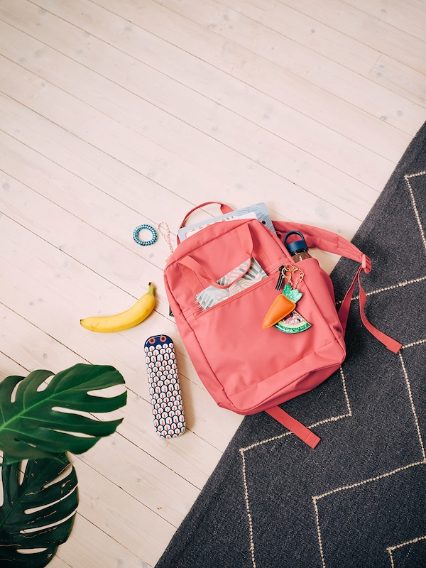 STARTTID Backpack, pink-red, 12 l
