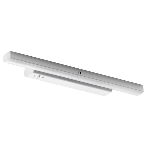 STÖTTA LED cabinet lighting strip w sensor battery-operated white 50 lm 32 cm 5.5 cm 2 cm