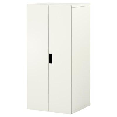 STUVA / STUVA MÅLAD wardrobe white/white 60 cm 50 cm 128 cm