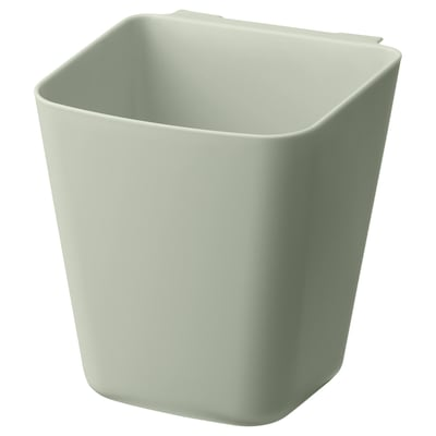 SUNNERSTA Container, pale green, 12x11 cm