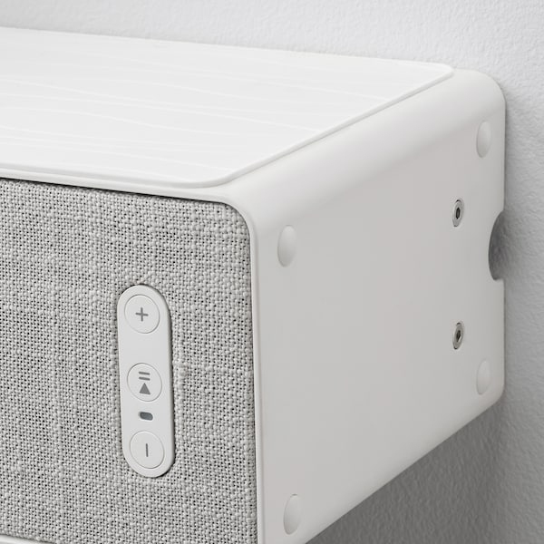 SYMFONISK bookshelf speaker wall bracket white 86 mm 37 mm 302 mm