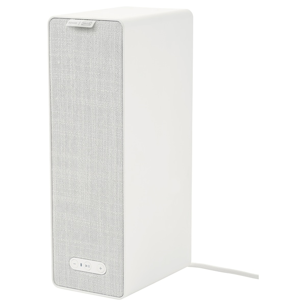 SYMFONISK WiFi bookshelf speaker white 10 cm 15 cm 31 cm 150 cm