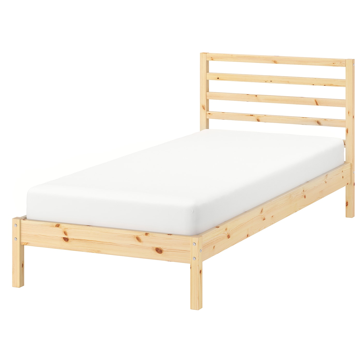 Eenpersoons Bedbank Ikea.Tarva Bed Frame Pine Ikea