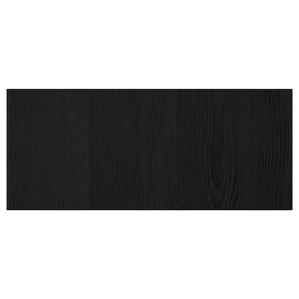 TIMMERVIKEN drawer front black 60 cm 26 cm 2.0 cm