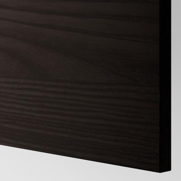 TINGSRYD cover panel wood effect black 61.6 cm 240 cm 62 cm 240.0 cm 1.3 cm