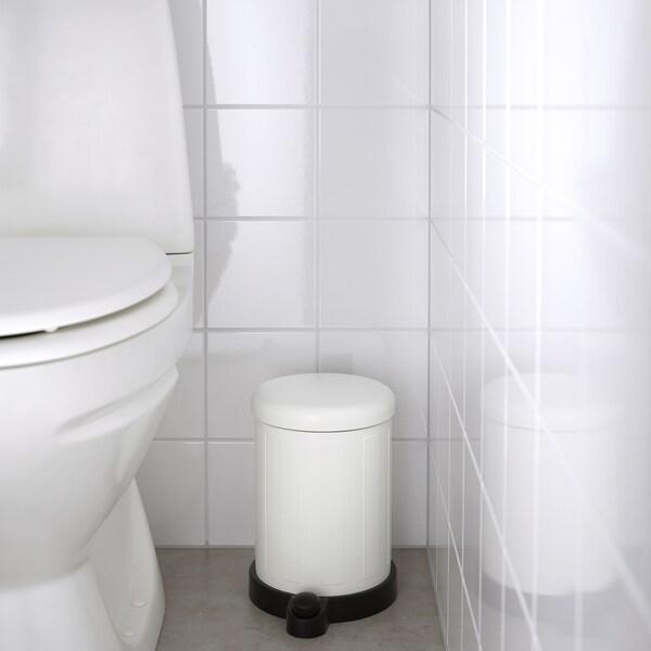 TOFTAN waste bin white 27 cm 19 cm 4 l