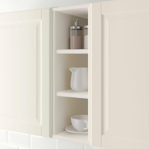 TORNVIKEN Open cabinet, off-white, 20x37x60 cm