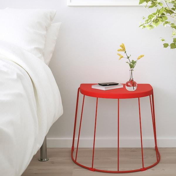 TRANARÖ stool/side table, in/outdoor red 110 kg 56 cm 41 cm 43 cm