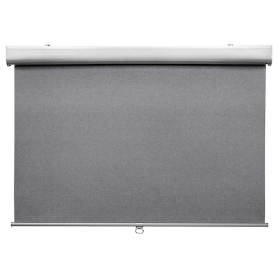TRETUR Block-out roller blind, light grey, 80x195 cm