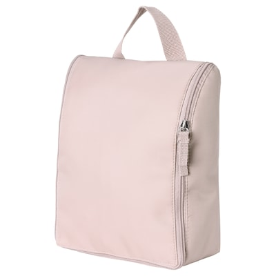 TROLLFJORDEN Toiletry bag, pale pink