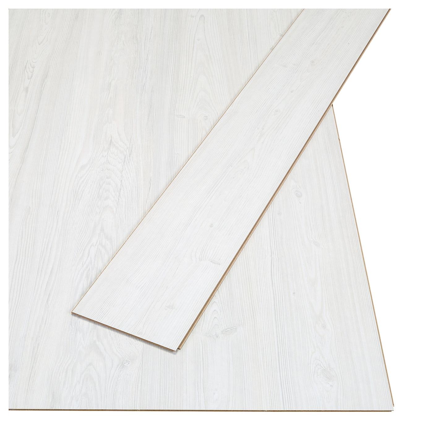 Tundra Laminated Flooring Whitewash
