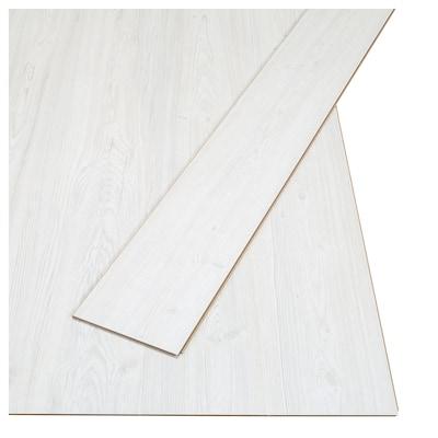 TUNDRA Laminated flooring, whitewash pine effect, 2.25 m²